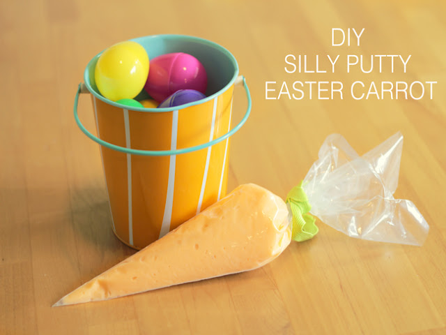 silly putty Easter carrot