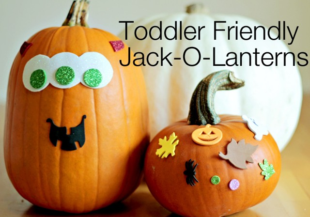 MESS-FREE PUMPKIN DECORATING
