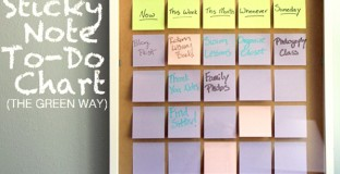 DIY reusable to-do list. A great way to stay organized.