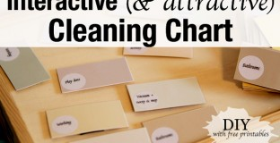DIY weekly or bi-weekly cleaning chart