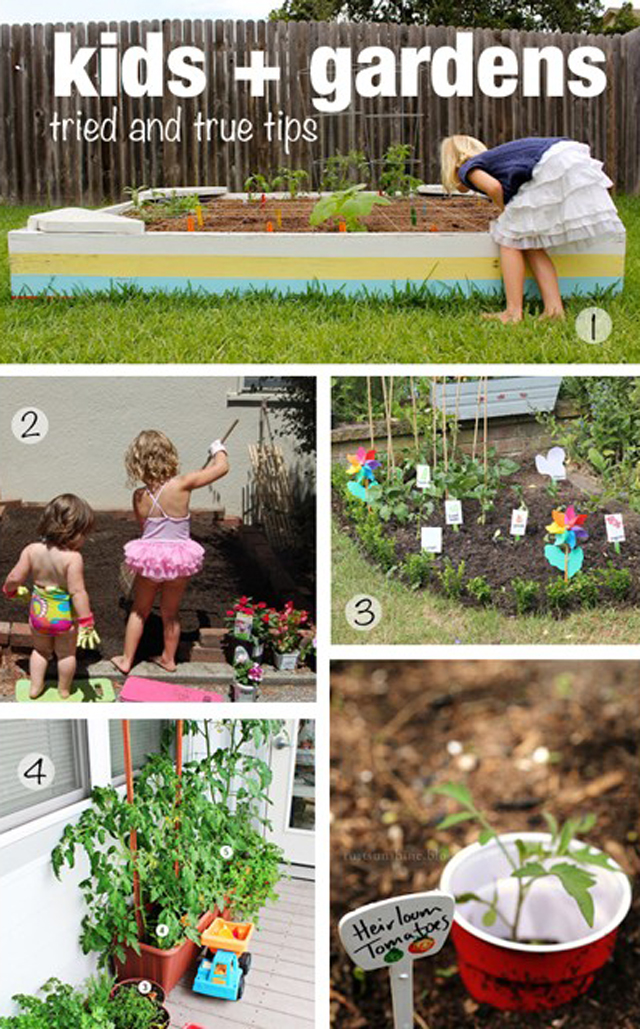 Vegetable gardens tips for growing with kids for Gardening tips for kids