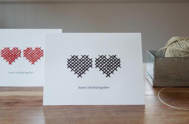"""Блог.ру - petitekitti -  """"Вышитая """" открытка для любимого человека."""