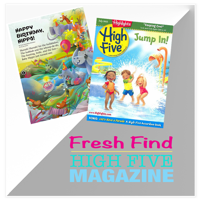 high five magazine - excellent high-quality reading for the littles