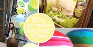 DIYs Just to Make the Kids Smile - #1 is awesome!