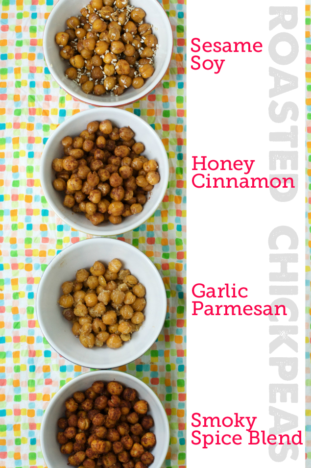 Roasted Chickpea Snack Recipe — Dishmaps