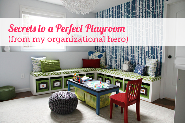 Tons of ideas for setting up the ultimate play room