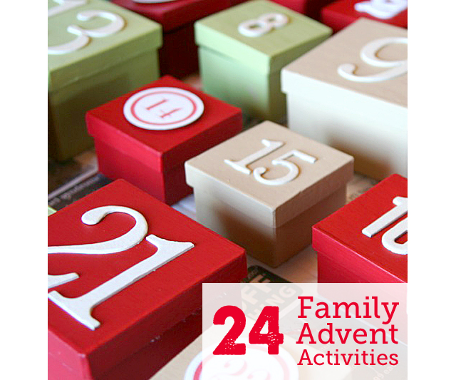 24 unique and low-stress ideas for families to countdown to Christmas - #11 is our kids' favorite new tradition.