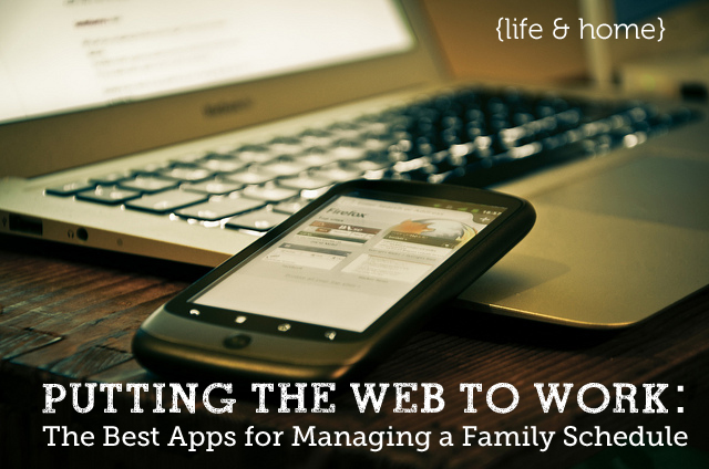 Best apps for keeping your family's schedule organized