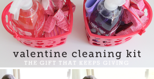 skip the candy this year and make your small kids a personalized cleaning kit they'll love with this easy DIY - Mine littles went crazy over these!