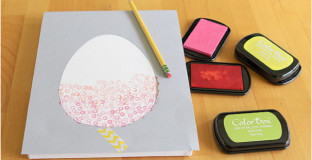 Love these Easter projects using melted crayons, washi tape, and stamps - perfect for older kids.