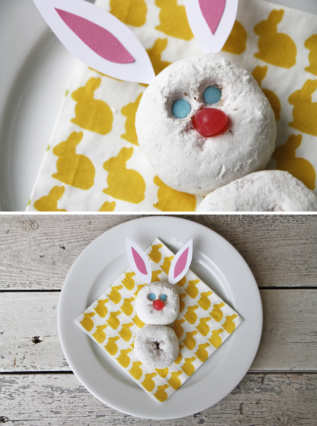 Making this cute little guy for a simple Easter morning breakfast.