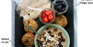 5 Easy ways to make healthy steel cut oats - including on the go options - never skip breakfast again!