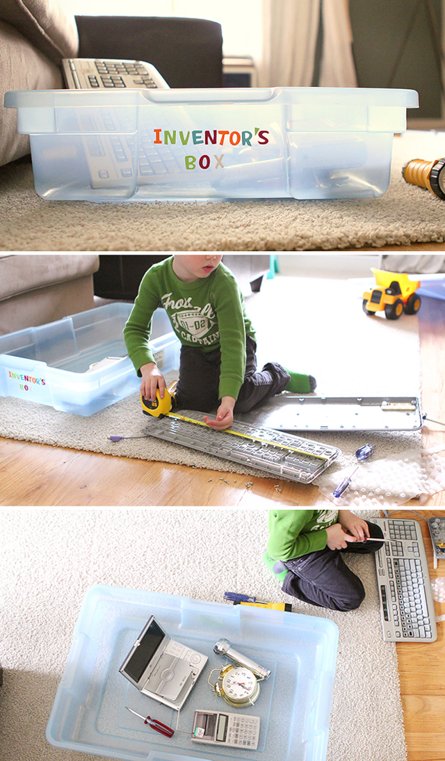 DIY Inventor's Box - a super easy and cheap way to build STEM skills ...
