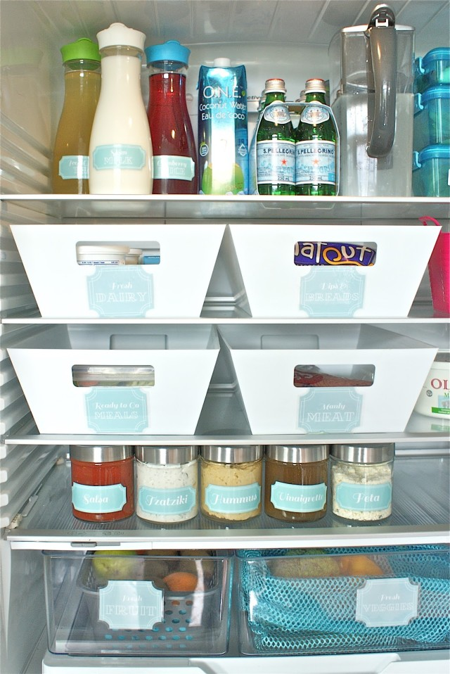 Secrets to an organized fridge