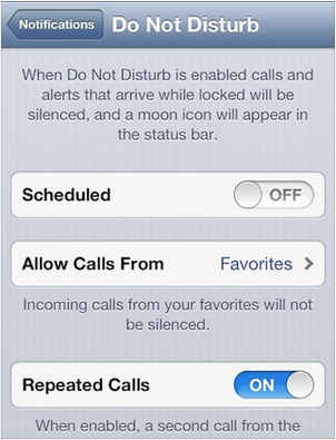 Silence Your iPhone with Do Not Disturb and iOS 6's New Phone Features