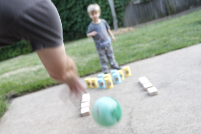 Playtime Cheat Sheet: Tin Can Bowling