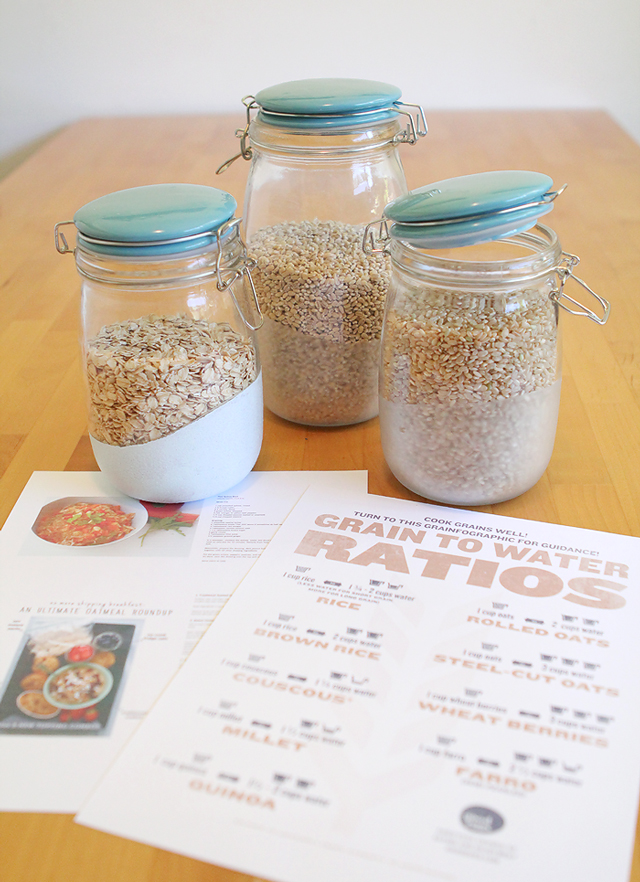 Make a healthy grains gift pack for Mother's Day (or just for yourself)!