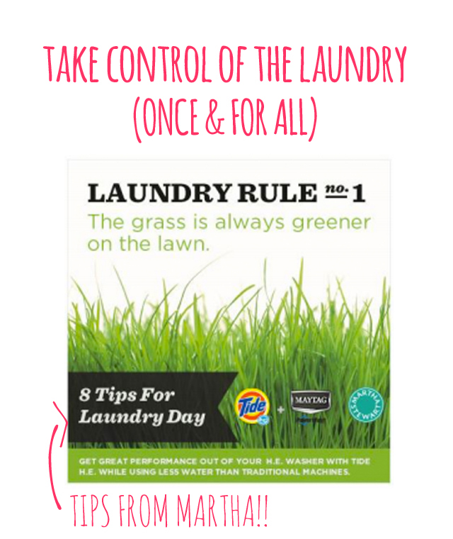 Great tips for making laundry less of a pain!