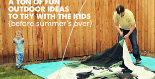 A great list of things to do with the kids this summer!