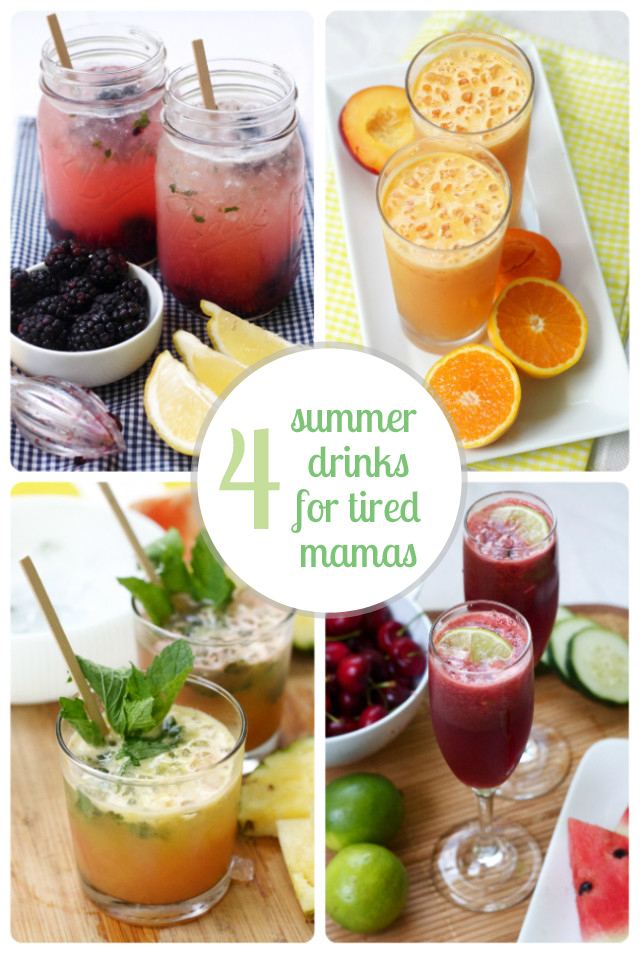 4 tasty ways to top of your busy summer day (alcoholic or not - whichever you prefer)