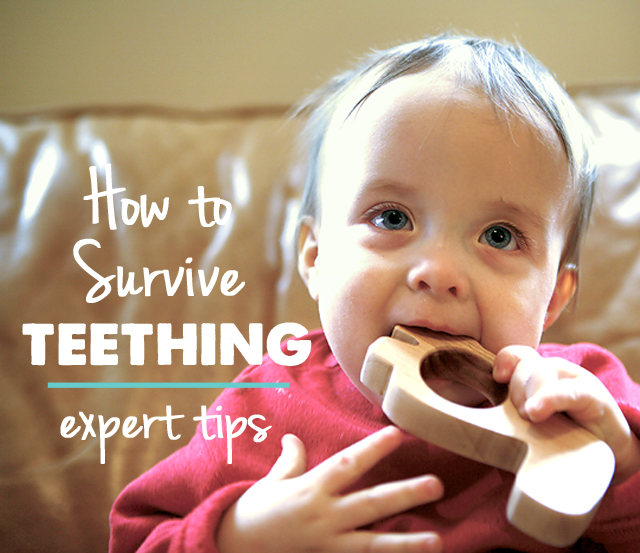 Excellent info. here on how to get through the teething stage!