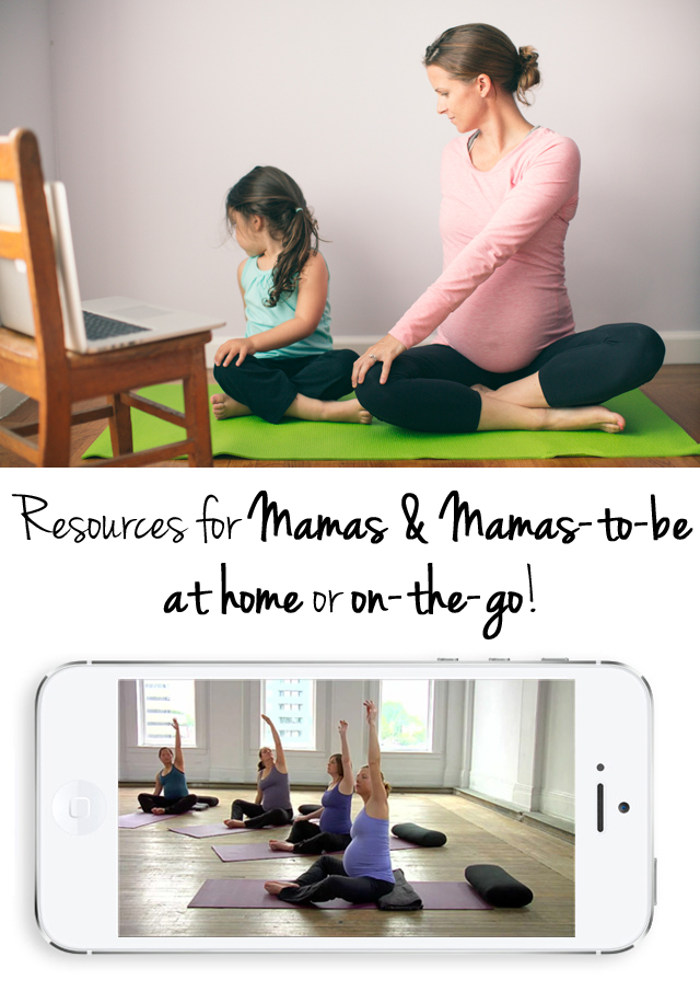 Awesome resource for moms and pregnant woman that can be used at home or on your phone - can't wait to share with my mommy friends.