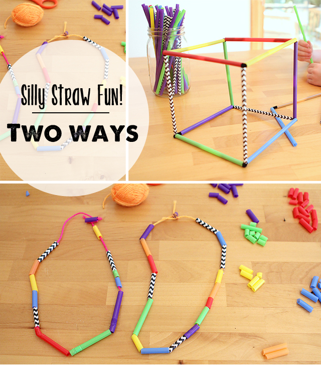 My kiddos played with these two ideas for hours!