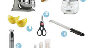 All tools that will make me actually want to get in the kitchen and cook now that summer's over - especially #9, my new fav!