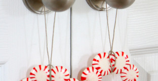 Make this classic Christmas craft with the kids and use to decorate presents, table-scapes, and more (see post for how to make them non-sticky)