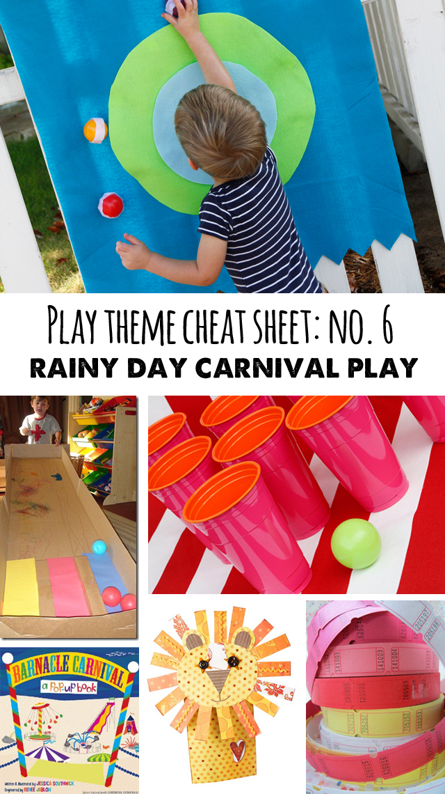 a bunch of great ideas for passing a rainy afternoon
