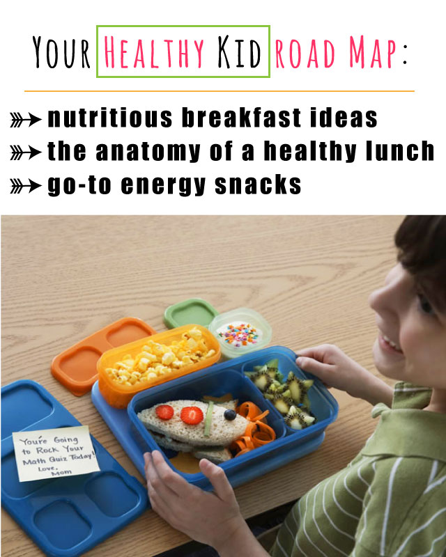 Lots of great meal ideas for giving your kids energy all day long from Dr. Oz nutritionist Kate Geagan