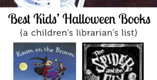Best Halloween Books for Kids - #2 and #5 are my kiddos' favorites!