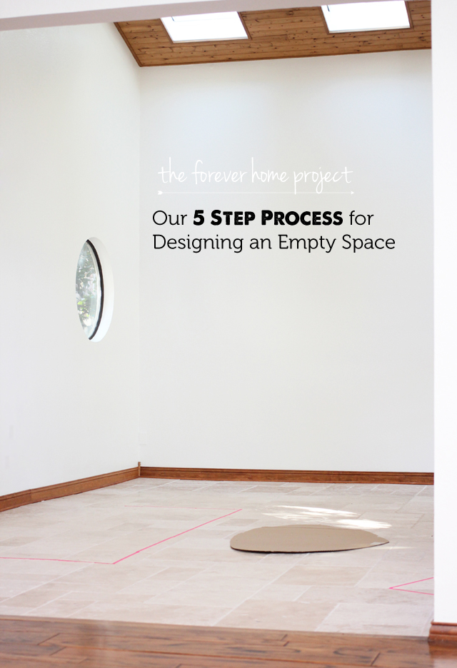 Blank Canvas: Decorating a completely empty space - love the list of apps and website in this post to help you plan.