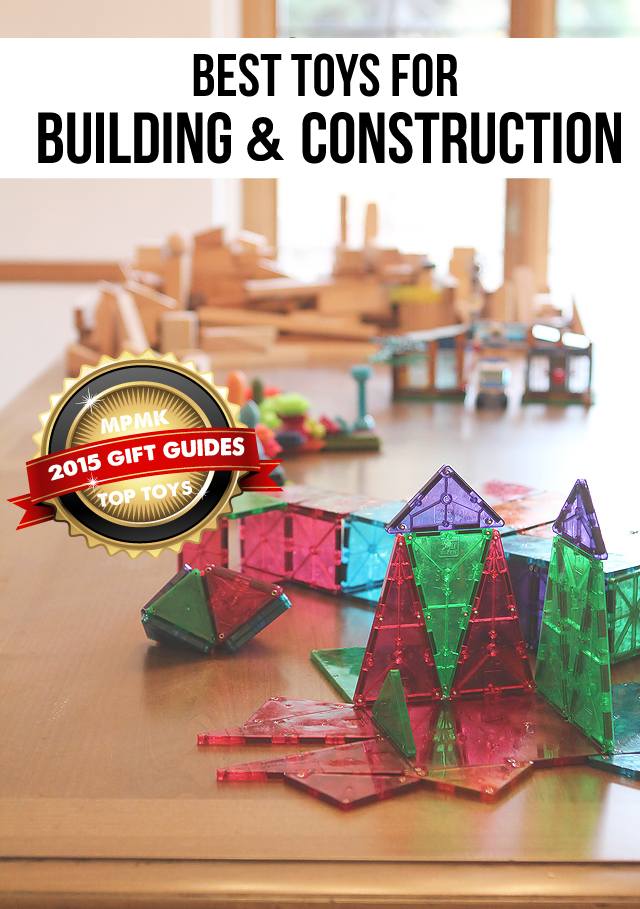 Best building toys for developing math, problem-solving, and spatial thinking skills - love that there are suggested age ranges