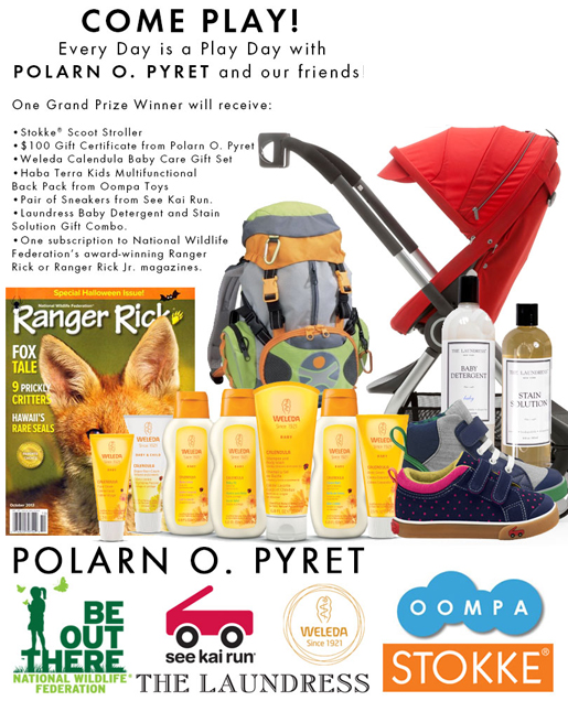 Polarn O, Pyret Every Day a Play Day Challenge