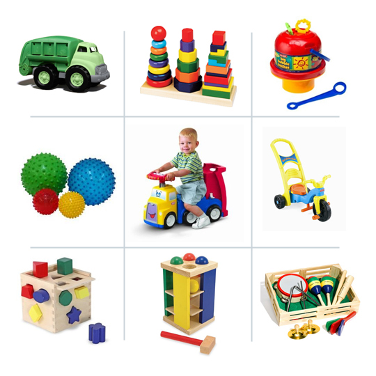 Best developmental toys for babies & young toddlers - our kids have played with that truck for years!