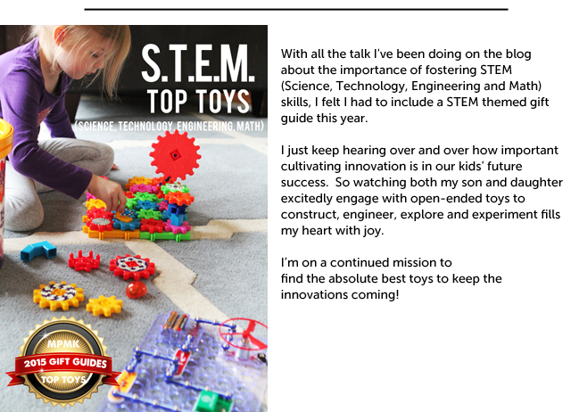 The most engaging S.T.E.M. (Science, Technology, Engineering, Math) Toys for Kids - Everything on this list looks awesome! Such great educational finds.