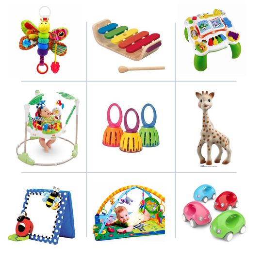 Best developmental toys for babies - that music table is the best!