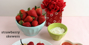 3 Healthy Strawberry Snacks for Valentine's Day - yummy