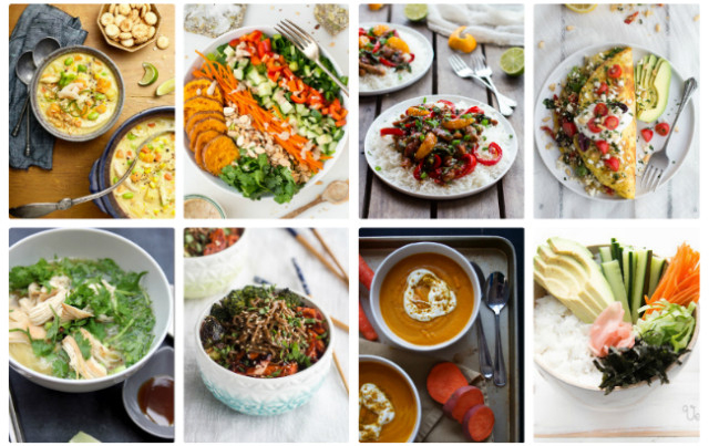 16 fast & healthy family dinners
