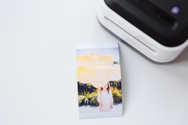 Zink wireless smart app printer
