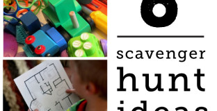 Six different types of scavenger hunts to send bored and restless kids on - each can be modified a hundred different ways so the possibilities are endless. So great for the witching hour!