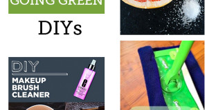 I might spend all weekend making these DIY green clean and beauty products - the DIY foaming hand soap is my favorite!