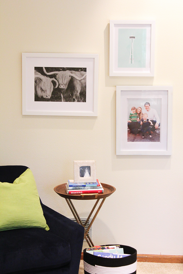 Tips and ideas for arranging pictures on wall - Arranging pictures on a wall ...