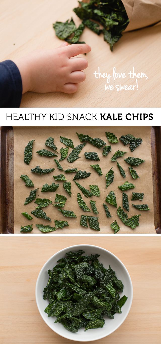 Kid Friendly Crunchy Kale Chips - Love the different flavor recommendations. I'm making these this weekend!