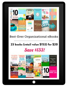 Organization e-Book bundle - save $133!