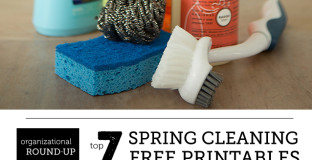 Lots of handy free checklists to finally get your spring cleaning done - love the look of #6, actually makes me feel happy about cleaning!