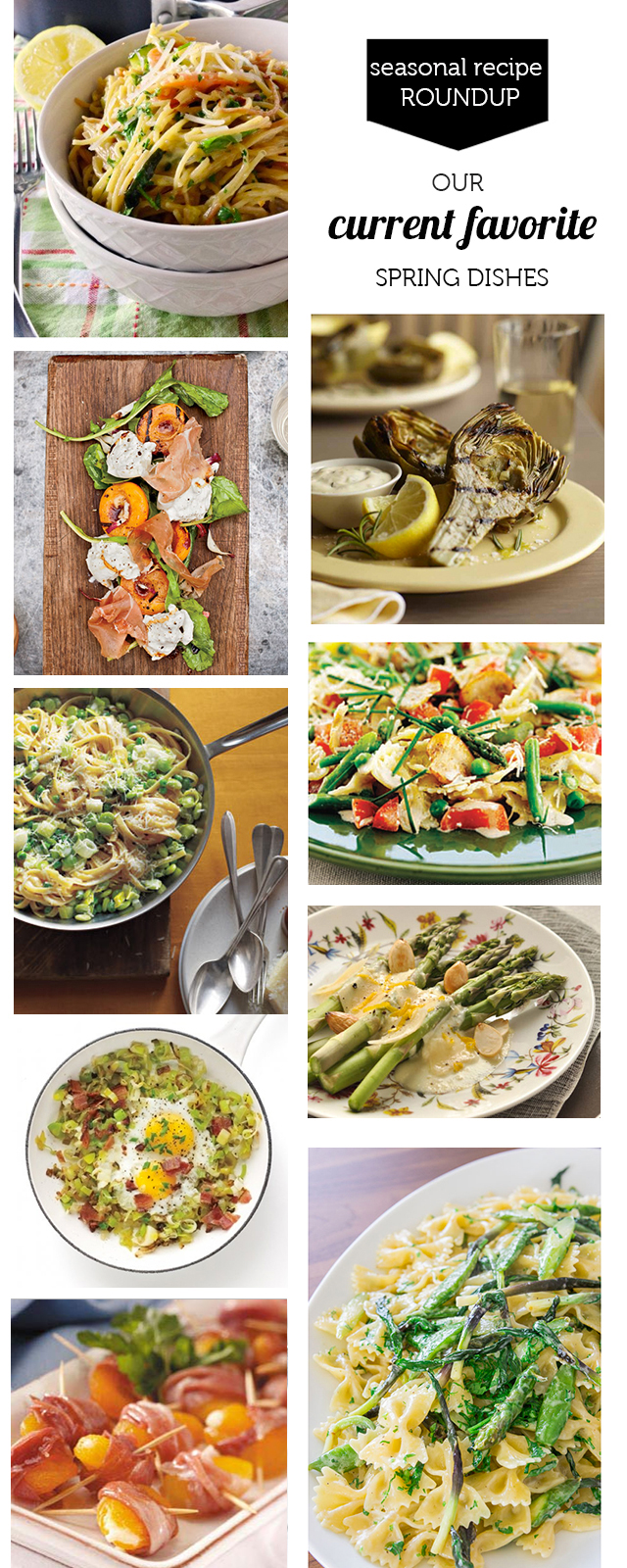 The best recipes for families using fresh spring produce - the Springtime Pasta Primavera is epic!