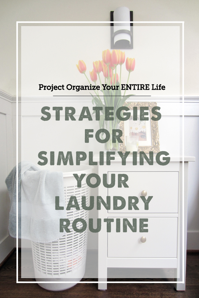 Simple tricks for finally taking control of that laundry pile