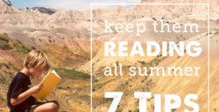 Solid tips on how to use summer to give your kids a love of reading - from the nonprofit organization Raising a Reader